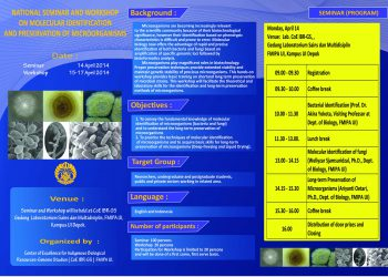 National Seminar and Workshop on Molecular Identification and Presservation of Microorganisms