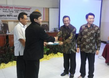 Dr.rer.nat. Abdul Haris ditunjuk sebagai Sekjen MIPANET untuk 2 Periode 2014-2016