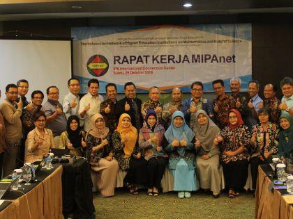 34 Perguruan Tinggi se-Indonesia menghadiri Rapat Kerja MIPAnet di IPB