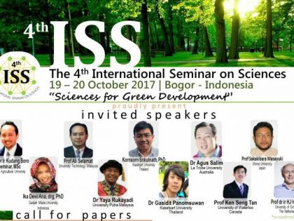 The 4th International Seminar on Sciences