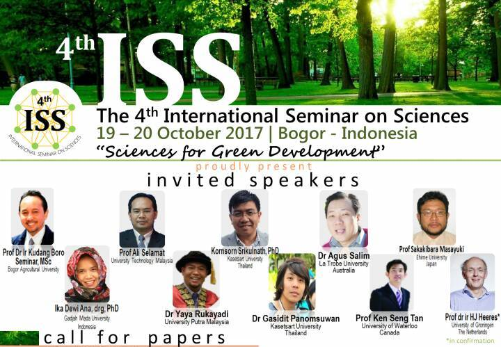 The 4th International Seminar on Sciences