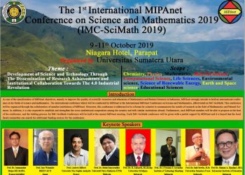 IMC-SciMath 2019 Parapat, North Sumatera, 9-11 October 2019