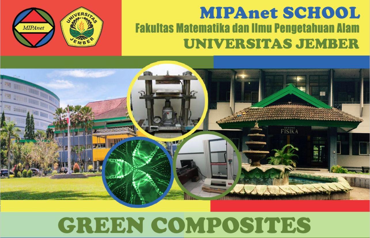 GREEN COMPOSITES, JEMBER, 24 – 26 OKTOBER 2019