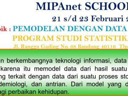 Pemodelan dengan Data Proses Stokastik, Bandung 21-23 Februari