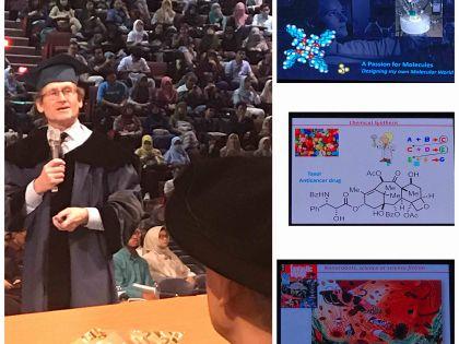 The Joy of Discovery: Pidato Ilmiah Nobel Laureate Ben L. Feringa di ITB 2 Maret 2020